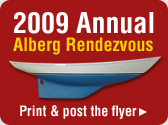 2009 Annual Alberg Rendezvous. Print and post the flyer